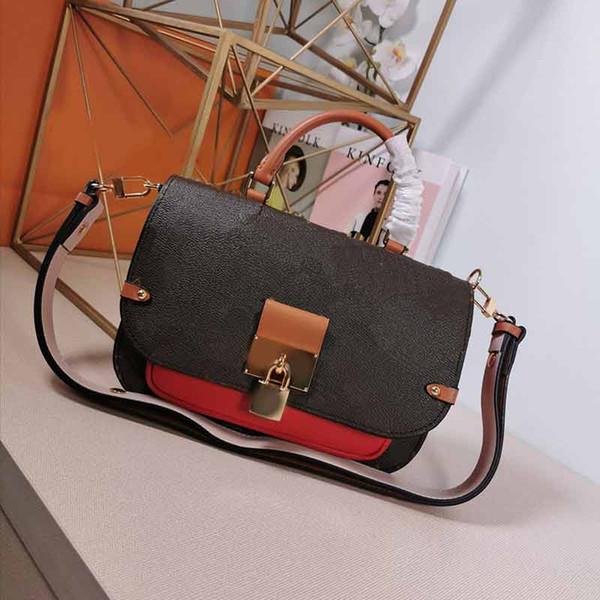 designer luxury handbag purse m44353 vaugirard l flower lock purse handbag designer purse ladies hand bag (507557779) photo
