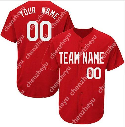 Cu_tom_new_men_ba_eball_jer_ey__imple_neat_jer_ey__pullover_button_red_3030