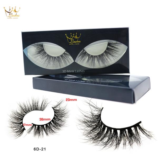 crownlashes eye lashes natural 100% handmade thick false eyelashes extension soft eye lashes mink false eyelashes (492178147) photo