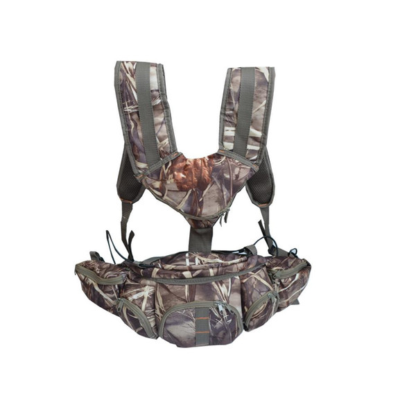 outdoor multi-purpose backpack camouflage color purse fishing trekking (481183167) photo