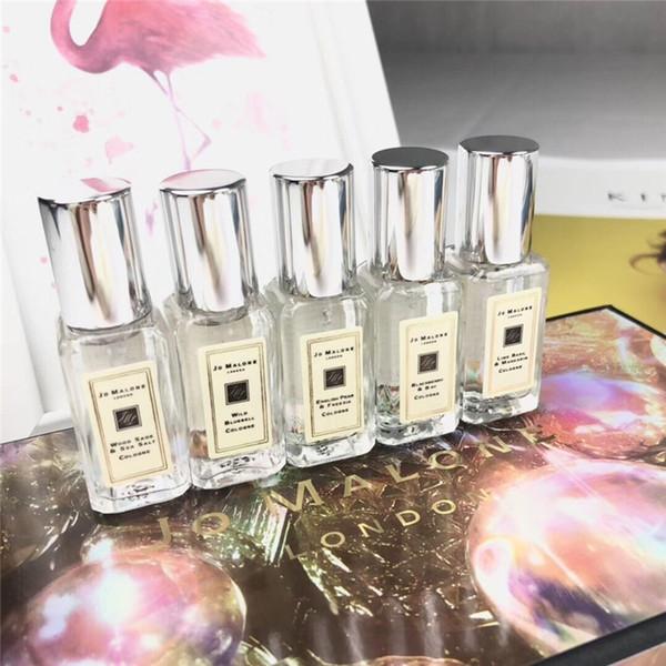 Новый макияж 9 мл *5 Комплект Джо Малоун одеколон длительный джентльмен духи удивительный запах портативный аромат наборы для Рождественский подарок