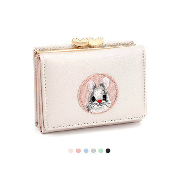 cartoon women wallet cute animal girl purse brand design small ladies wallet mini coin purse female card holders (520273969) photo