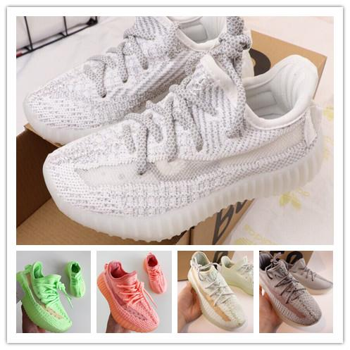 (BOX) FORM Infant v2 Hyper space Kids Running shoes Clay Kanye West Fashion toddler trainers big small boy girl Children Toddler sneaker