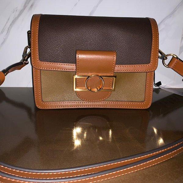 candy bag replica dauphine 25cm woman shoulder bags lady purse genuine leather crossbody bags canvas messenger bag with original boxb001 (522010762) photo