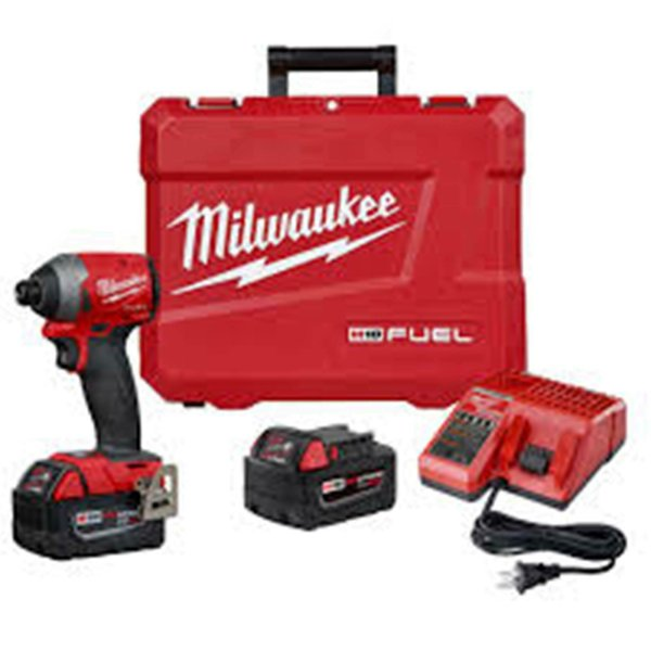 Milwaukee 2753-22 M18 FUEL Brushless 1/4-Inch Hex Impact Driver Kit