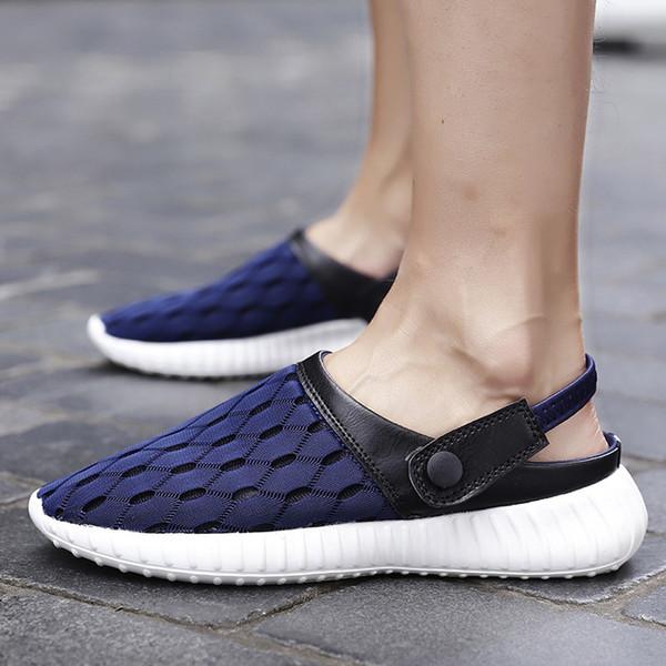 Men Aqua Shoes Outdoor Beach Water Shoes Upstream Creek Snorkeling slippers Non-Slip Lightweight sneakers #D