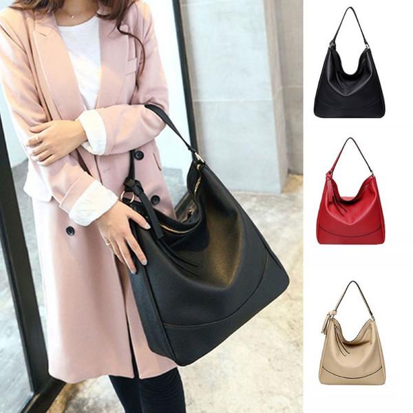 2019 vintage handbag lady shoulder bag tote purse pu leather women messenger hobo tote purse bags (503736879) photo