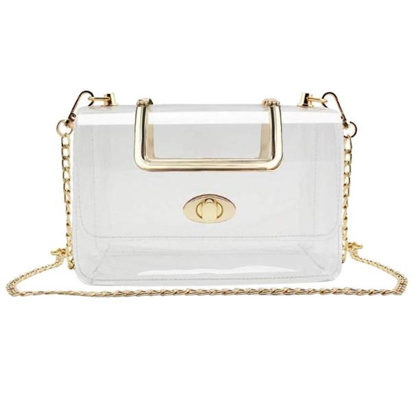 coin purse handbags outdoor travel bag clear pack waterproof crossbody bag purse transparent adjustable shoulder #zer (514817571) photo