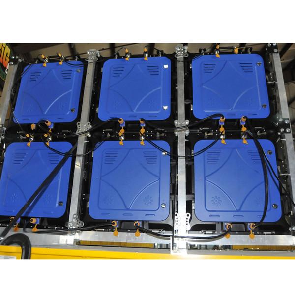 ASLLED DJ Stage Светодиодный экран P6 Открытый 576x576mm литой алюминиевый светодиодный шкаф
