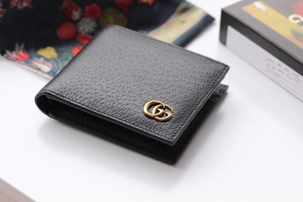 mens wallet women wallets change purse wrist purse hand purse leather short bifold wallet free (510588755) photo