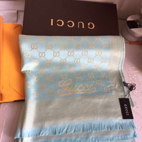 Модные блестящие золотые пряжи окрашенные пряжи типа шарф бренда шарф высокого к фото