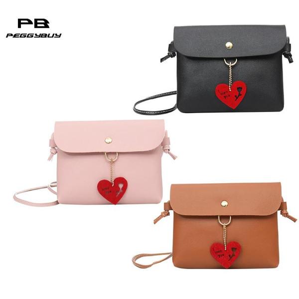 hollowed flower heart shoulder purse leather women crossbody satchel bags (494163403) photo
