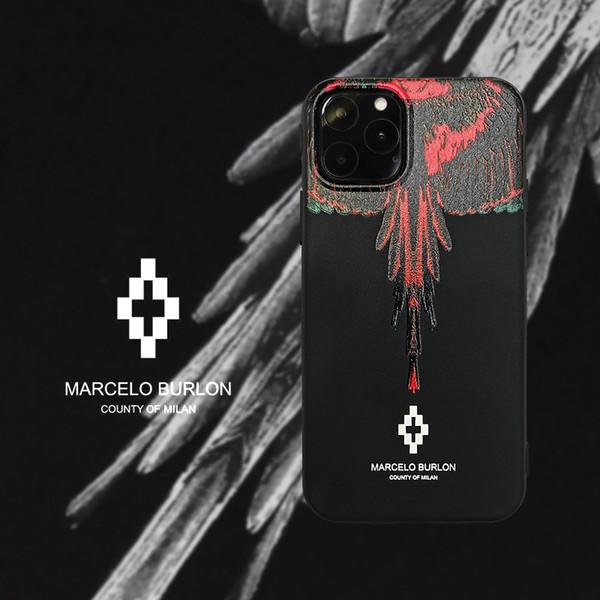 Красный и черный крылья ТПУ чехол для iPhone 6 6s 7 8 8plus XR x задняя крышка для iphone x xr 7plus ч фото