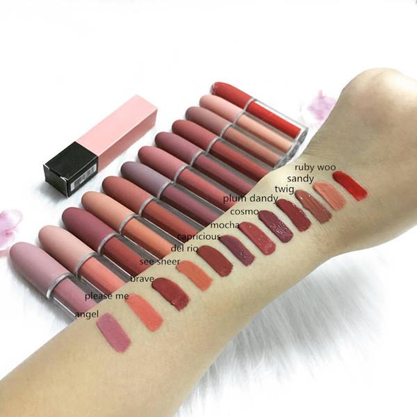 EPACK Высокое качество макияжа матовая помада DHL Бесплатная доставка 12 цветов Новый фото