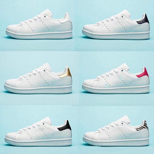 Adidas Stan Smith обувь Chaussures smith stan для мужских плоских туфель Red Blue Silver тройной белый чер фото