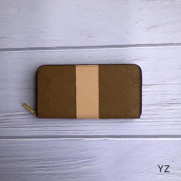 mens luxury wallet leisure designer card holder purses zippy wallets mens long folded purses designer luxury handbags purses (531536902) photo