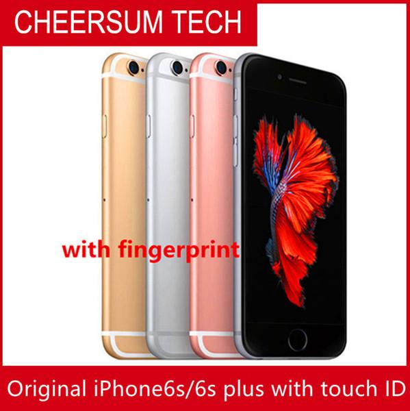 Original refurbi hed original 4 7  039   039 5 5  039   039 apple iphone 6  6  plu  with touch dual core 2gb ram 16gb 64gb 128gb rom 12mp ca