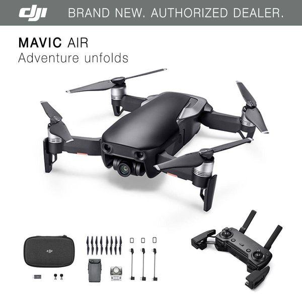 2019 new dji mavic air   onyx black drone   4k camera  32mp  phere panorama