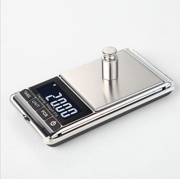 Newest Precision Electronic Digital Scales LCD display 100g/200g/300g/500g/1000g For Gold Diamond Jewelry Weight Balance Kitchen Scales