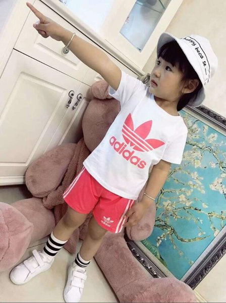 2019 new Baby Boys And Girls Suit Brand &#65DI&#68AS Tracksuits Kids Clothing Set Hot Sell Fashion Spring Autumn Long Sleeve Garment