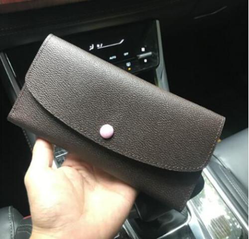 original designer wallet card package wallet leather multicolor coin purse long purse card holder women classic zipper pocket (522491184) photo