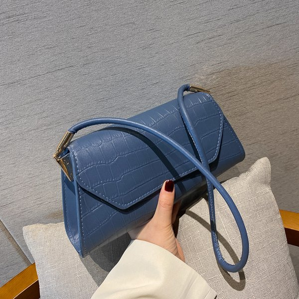 women bag french pu flap fashion solid hasp shoulder bags purse phone bag luxury designer euro-america style (562605548) photo