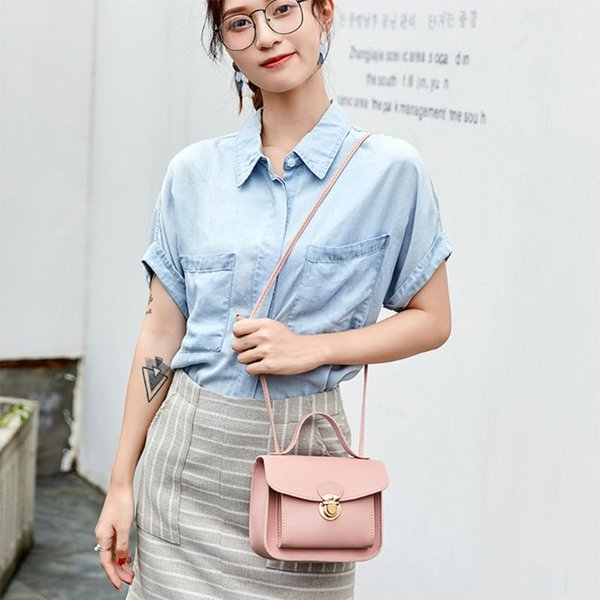 fashion women girls handbag shoulder bag leather messenger hobo bag satchel purse tote (561440437) photo