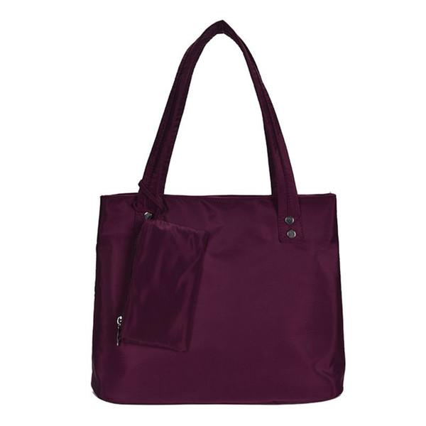 women handbag shoulder bags purse waterproof nylon tote travel hobo bags purse f42a (555963631) photo