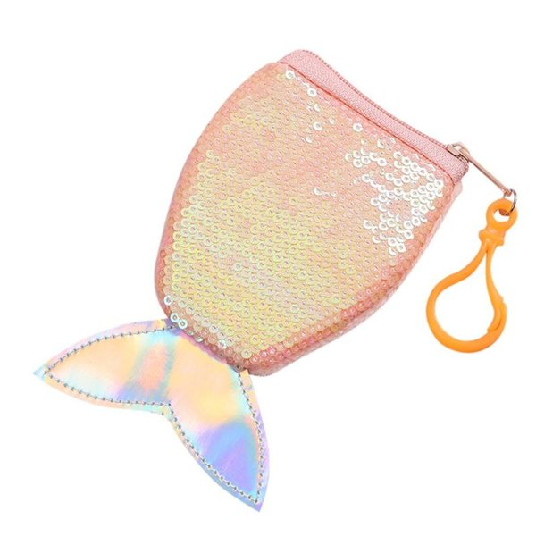 aelicy 2020 fashion mini girl purse fish tail coin purse keychain luxury cute female coin keychain luxury girl (554131578) photo