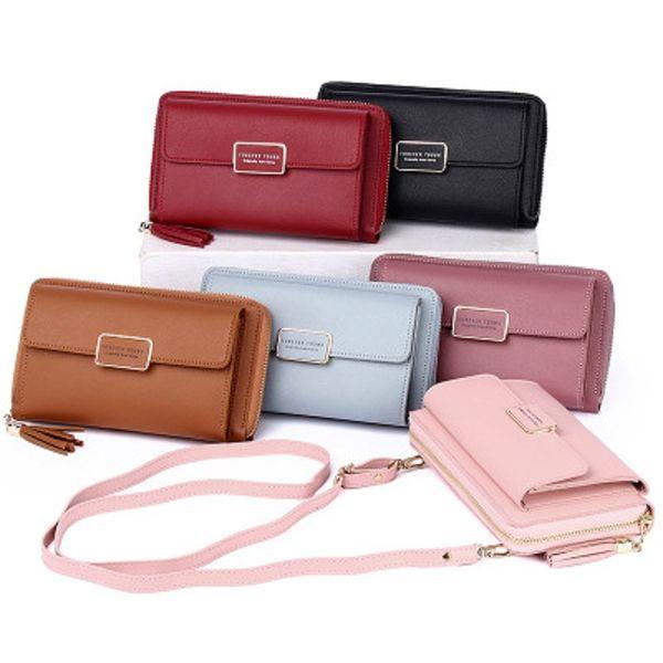 mini crossbody shoulder bag cell phone pocket ladies purse clutch ladies purse with zipper large capacity (562580518) photo