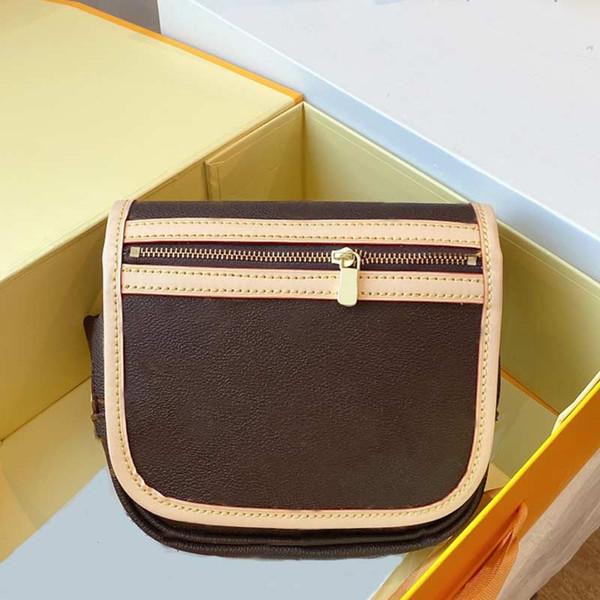 fashion women waist bag cowdie handbag genuine leather shoulder bag brown crossbody handbag purse coin purse (563048164) photo