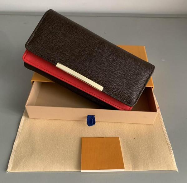 designer luxury handbags wallet women's wallet zipper bag female designer wallet purse fashion card holder pocket long women bag with b (528547903) photo