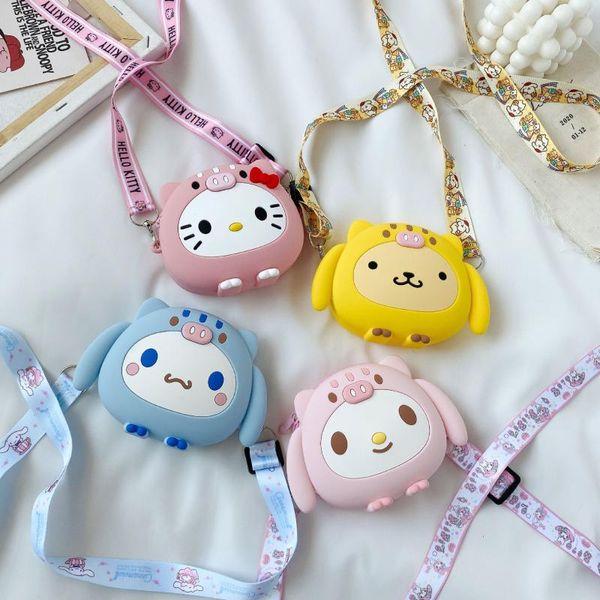 girl's coin purses shoulder bag 2020fashion cute cartoon selione soft zipper crossbody bags for children travel vacation purses (562405835) photo