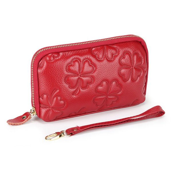 the first layer of leather clutch new large-capacity leather coin purse wild casual small bag clutch (554332856) photo