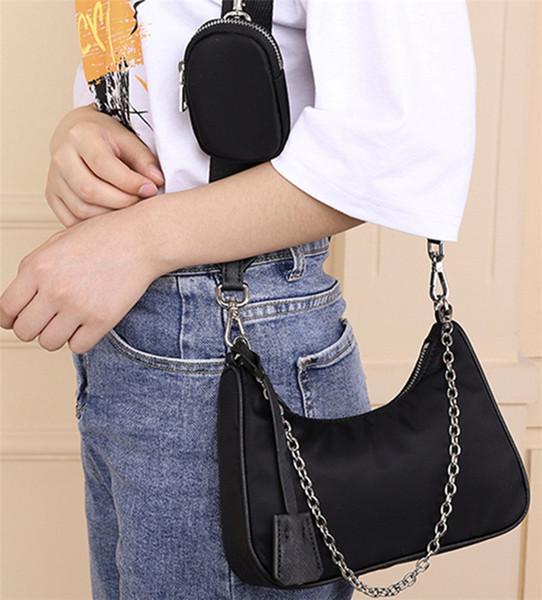 3 in 1 french shoulder underarm bag womens luxury designer handbags messenger bag purses shoulder backpack brand fashion coin wallets purse (555098427) photo