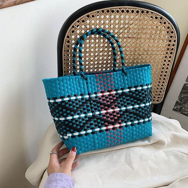 knitting purses and handbags luxury designer bags for women 2020 women purses wholesale handbags shoulder bag fashion tote bag (554761530) photo
