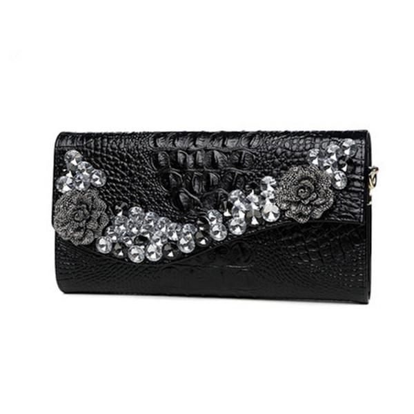 2020 luxury women clutch bag handbags women bags designer rhinestone wedding crystal purses evening bag purses and handbags sac (578397957) photo