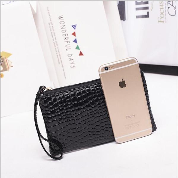 women clutch bag large capacity coin purse female mobile phone bag gift bag lady purse (565269967) photo