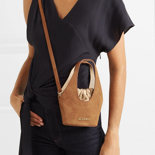 french designer shoulder bucket bag letter printing bucket bags lady drawstring handbags female shoulder bag crossbody bags wallets purse (580418817) photo