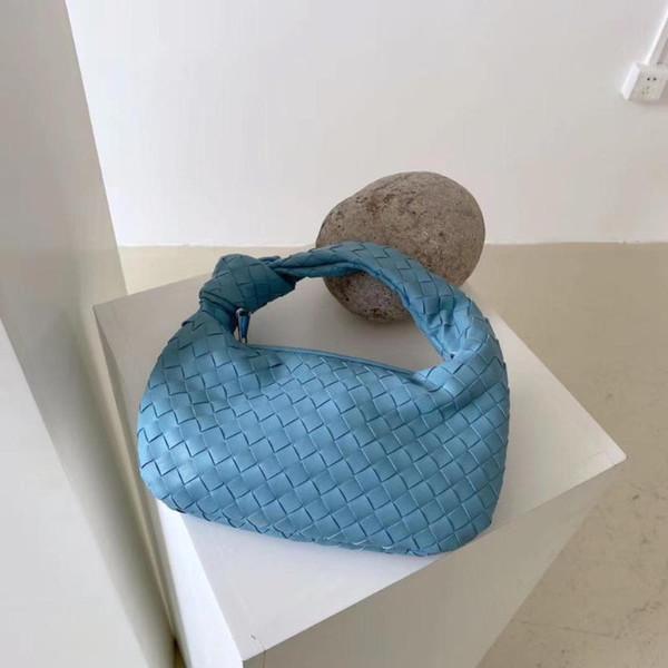 fashion handmade woven bag design leather shoulder bag lady fashion crossbody hobo purse casual handbag (588708479) photo