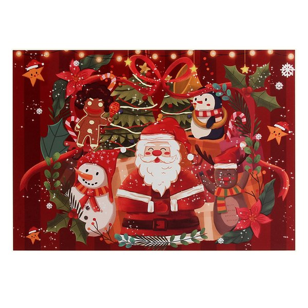 1000 Pieces Jigsaw Puzzle Merry Christmas Xmas Santa Claus