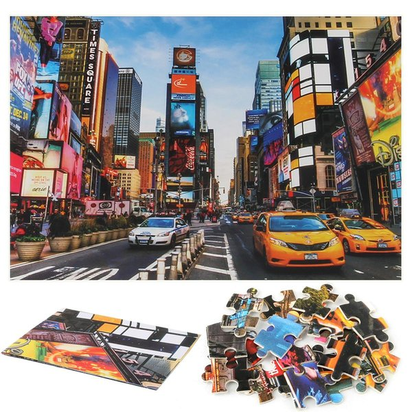 1000 Pieces Of Paper Puzzles Famous Paysage Animal Planet Puzzle Reduced Pressure Plane Puzzle Children Intelligence Game