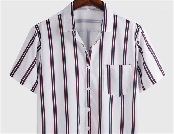 Mens Clothing Summer Mens Striped Printed Casual Shirts Turndown Collar Pocket Single Breasted Mens Shirts Business Style Fashion Mens Clothing Women Clothing Mens Jeans Pants Hoodies Hiphop ,Women Dress ,Suits Tracksuits,Ladies Tracksuits Welcome to our Store