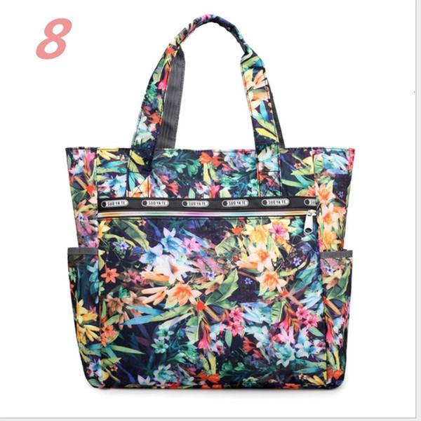 womens large floral printed handbag shoulder tote purse hobo satchel bag shopping bags (589544192) photo