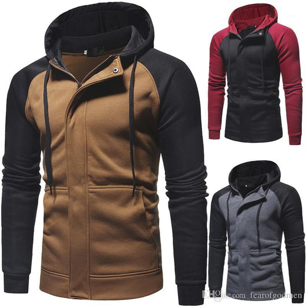 Jackets Autumn Winter Slim Zipper Drawstring Panelled Color Hooded Jackets Fashion Outdoor Mens Clothing Casual Mens Designer Fashion Mens Clothing Women Clothing Mens Jeans Pants Hoodies Hiphop ,Women Dress ,Suits Tracksuits,Ladies Tracksuits Welcome to our Store