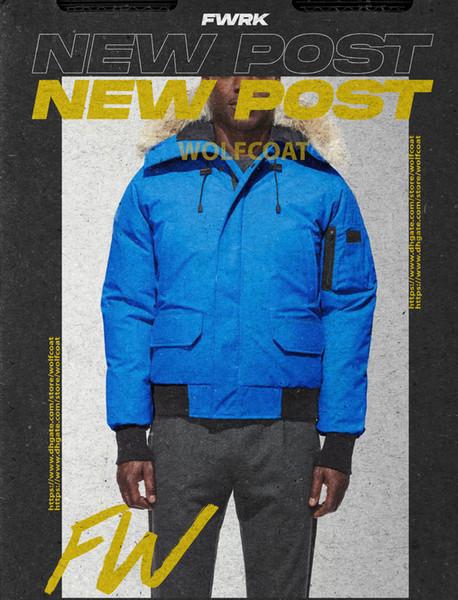 New Fashion Winter Mens Jackets Fashion Men Down Coats Windbreaker High Quality Parkas Mens Women Jackets Clothing