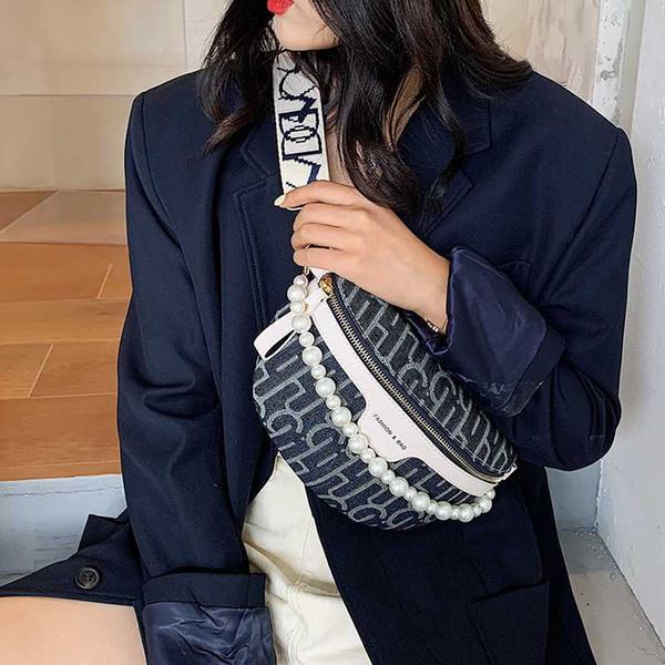 french niche ladies bags 2020 fashion all-match messenger bag chest bag popular waist bags women purse and handbags sac a main (566808434) photo