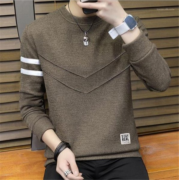 Tshirt Pullover New Mens Clothing 20FW Mens Casual Tops Teenagers Solid Color Long Sleeve O Neck Panelled Fashion Mens Clothing Women Clothing Mens Jeans Pants Hoodies Hiphop ,Women Dress ,Suits Tracksuits,Ladies Tracksuits Welcome to our Store