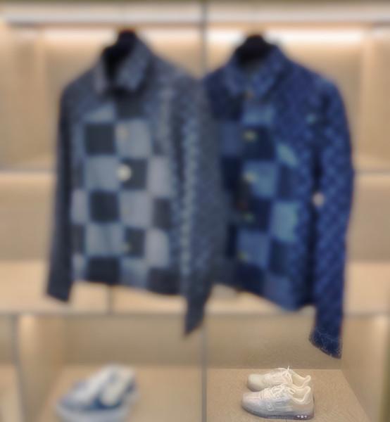 2020 Old denim jacket Coats Casual Street Fashion Pockets Warm Men Women Couple Outwear free ship zdl0802.