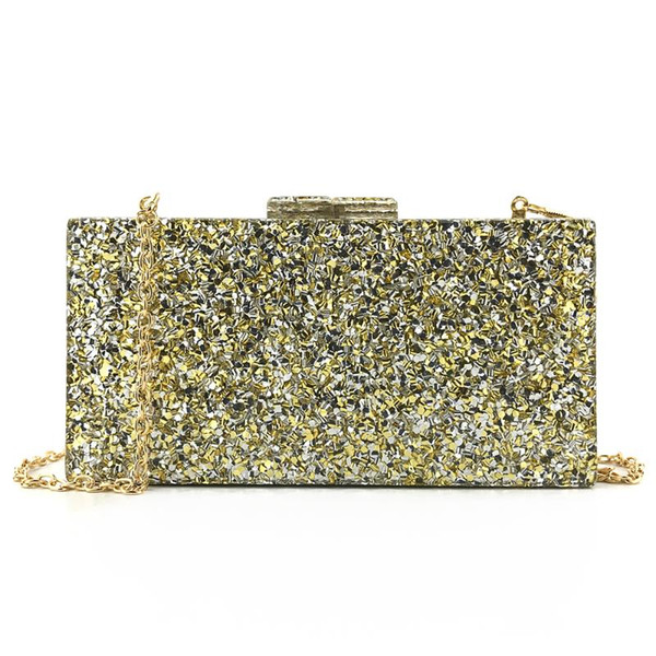oc4091 wholesale handmade lady acrylic clutch bag wedding acrylic purses (578395043) photo